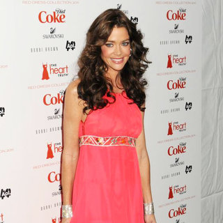 Denise Richards in Mercedes-Benz IMG New York Fashion Week Fall 2011 - The Heart Truth's Red Dress Collection