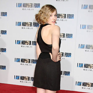 Chloe Moretz in Los Angeles Premiere of 'I Am Number Four'