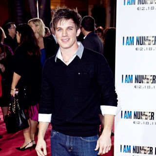 Matt Lanter in Los Angeles Premiere of 'I Am Number Four'