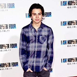 Jake T. Austin in Los Angeles Premiere of 'I Am Number Four'