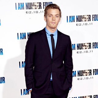 Jake Abel in Los Angeles Premiere of 'I Am Number Four'