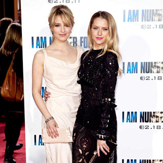 Dianna Agron, Teresa Palmer in Los Angeles Premiere of 'I Am Number Four'