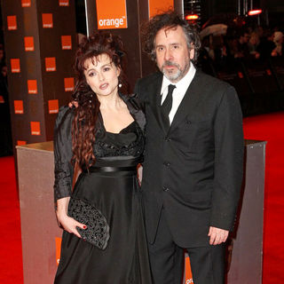 Helena Bonham Carter, Tim Burton in 2011 Orange British Academy Film Awards (BAFTAs) - Arrivals