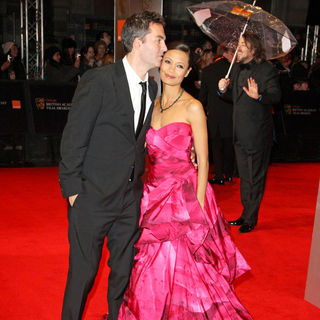 Ol Parker, Thandie Newton in 2011 Orange British Academy Film Awards (BAFTAs) - Arrivals
