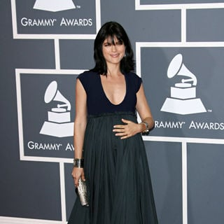 Selma Blair in The 53rd Annual GRAMMY Awards - Red Carpet Arrivals