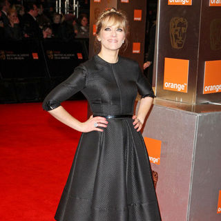 Edith Bowman in 2011 Orange British Academy Film Awards (BAFTAs) - Arrivals
