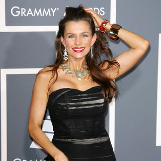 Alicia Arden in The 53rd Annual GRAMMY Awards - Red Carpet Arrivals