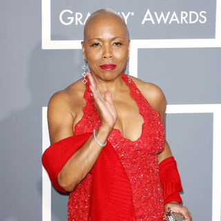 Dee Dee Bridgewater in The 53rd Annual GRAMMY Awards - Red Carpet Arrivals