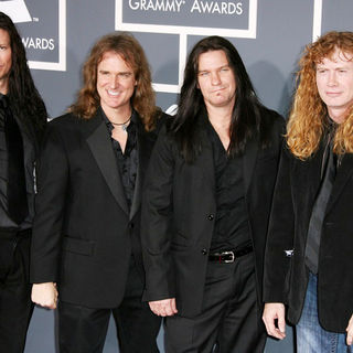 Megadeth in The 53rd Annual GRAMMY Awards - Red Carpet Arrivals
