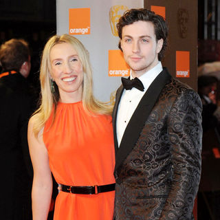 Sam Taylor-Wood, Aaron Johnson in 2011 Orange British Academy Film Awards (BAFTAs) - Arrivals