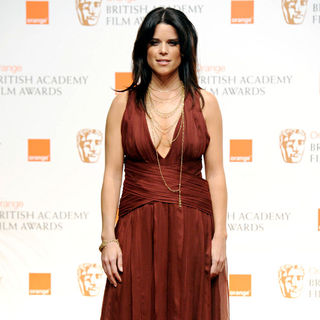 Neve Campbell in 2011 Orange British Academy Film Awards (BAFTAs) - Press Room