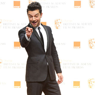 Dominic Cooper in 2011 Orange British Academy Film Awards (BAFTAs) - Press Room