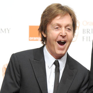 Paul McCartney in 2011 Orange British Academy Film Awards (BAFTAs) - Press Room