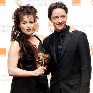 Helena Bonham Carter in 2011 Orange British Academy Film Awards (BAFTAs) - Press Room - wenn3206317