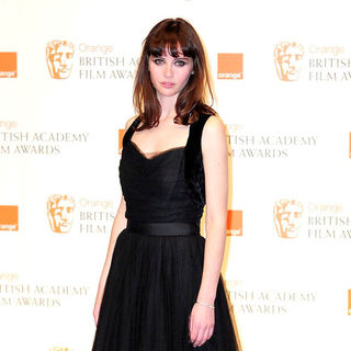 Felicity Jones in 2011 Orange British Academy Film Awards (BAFTAs) - Press Room