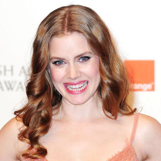 Amy Adams in 2011 Orange British Academy Film Awards (BAFTAs) - Press Room
