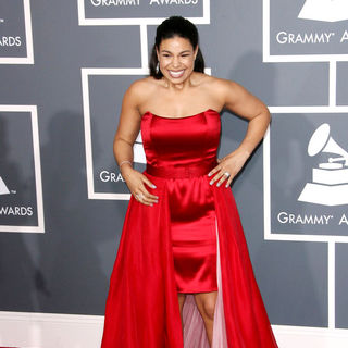 Jordin Sparks in The 53rd Annual GRAMMY Awards - Red Carpet Arrivals