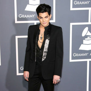 Adam Lambert in The 53rd Annual GRAMMY Awards - Red Carpet Arrivals