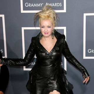 Cyndi Lauper in The 53rd Annual GRAMMY Awards - Red Carpet Arrivals