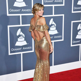 Heidi Klum in The 53rd Annual GRAMMY Awards - Red Carpet Arrivals