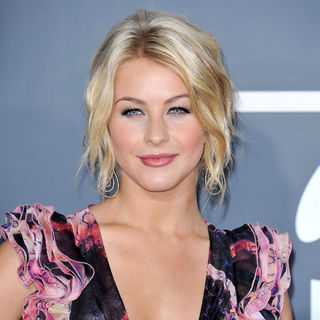 Julianne Hough in The 53rd Annual GRAMMY Awards - Red Carpet Arrivals