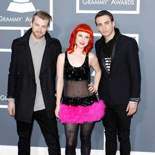 Paramore in The 53rd Annual GRAMMY Awards - Red Carpet Arrivals