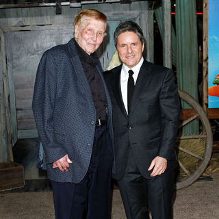 "Sumner Redstone, Brad Grey in Los Angeles Premiere of ""Rango"""