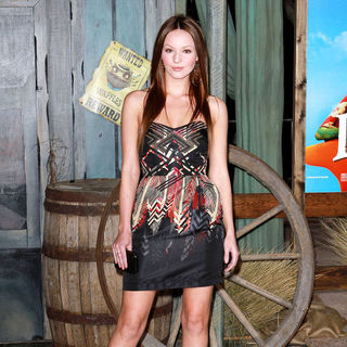 "Samantha Droke in Los Angeles Premiere of ""Rango"""