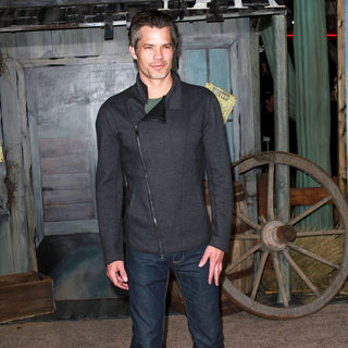 "Timothy Olyphant in Los Angeles Premiere of ""Rango"""