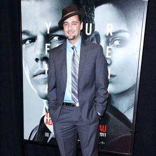 Donnie Keshawarz in New York Premiere of 'The Adjustment Bureau'