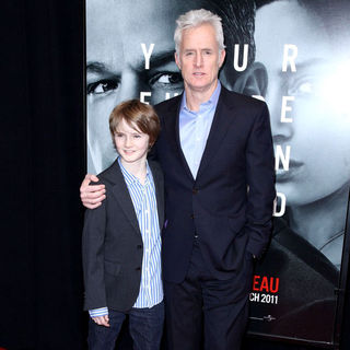 Harry Slattery, John Slattery in New York Premiere of 'The Adjustment Bureau'
