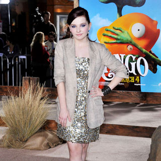 "Abigail Breslin in Los Angeles Premiere of ""Rango"""