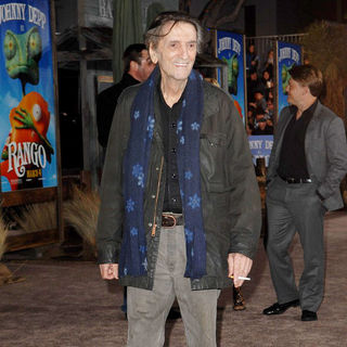 "Harry Dean Stanton in Los Angeles Premiere of ""Rango"""