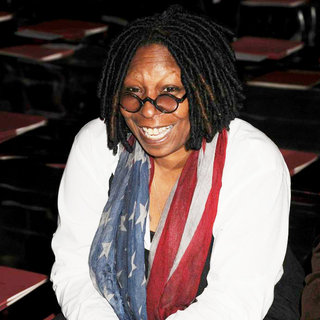 Whoopi Goldberg in Mercedes-Benz IMG New York Fashion Week Fall 2011 - Marc Jacobs - Front Row