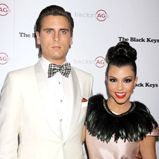 Scott Disick, Kourtney Kardashian in AG Adriano Goldschmied Launch of 'backstAGe'