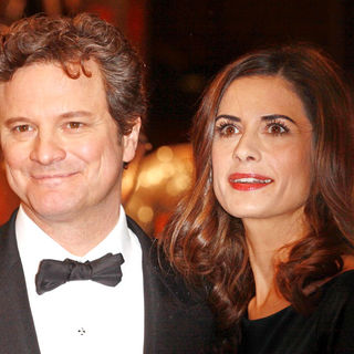 Colin Firth, Livia Giuggioli in 2011 Orange British Academy Film Awards (BAFTAs) - Arrivals