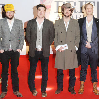 Mumford & Sons in The BRIT Awards 2011 - Arrivals