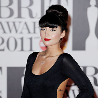 Yasmin in The BRIT Awards 2011 - Arrivals