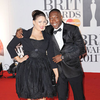 Dizzee Rascal in The BRIT Awards 2011 - Arrivals