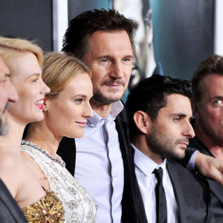 January Jones, Diane Kruger, Liam Neeson, Jaume Collet-Serra in The Los Angeles Premiere of 'Unknown' - Arrivals