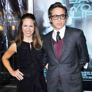 Susan Levin, Robert Downey Jr. in The Los Angeles Premiere of 'Unknown' - Arrivals