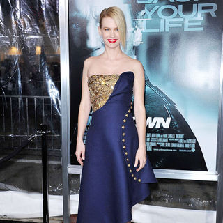January Jones in The Los Angeles Premiere of 'Unknown' - Arrivals