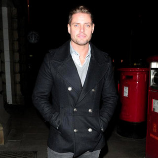 Keith Duffy, Boyzone in The Contemporary Six Art Gallery for Coronation Street Star Steve Huison