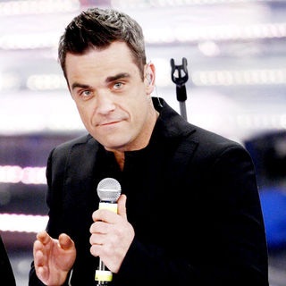 Robbie Williams in 61th Sanremo Song Festival