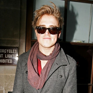Tom Fletcher, McFly in Tom Fletcher Outside The BBC Radio One Studios