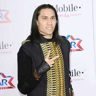 Taboo, Black Eyed Peas in T-Mobile Magenta Carpet at The 2011 NBA All-Star Game