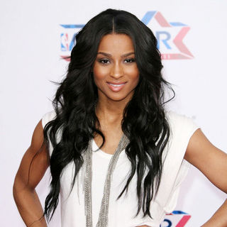 Ciara in T-Mobile Magenta Carpet at The 2011 NBA All-Star Game