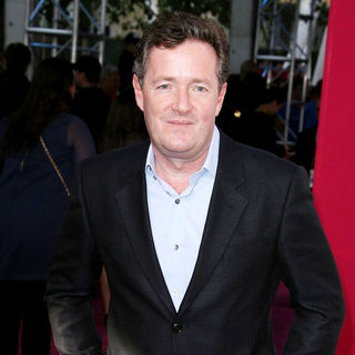 Piers Morgan in T-Mobile Magenta Carpet at The 2011 NBA All-Star Game