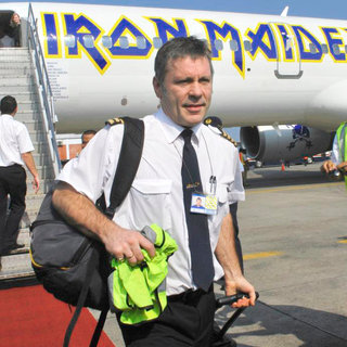 Bruce Dickinson of Iron Maiden Arriving in Bali During Their The Final Frontier World Tour 2011 - wenn3220573