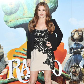 Isla Fisher in 'Rango' - Photocall